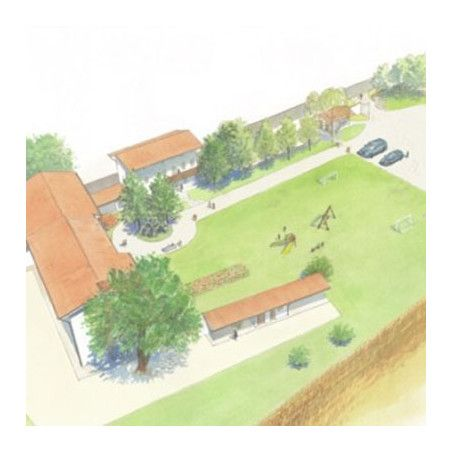 Project, irrigation for lawns up to 2000 square meters