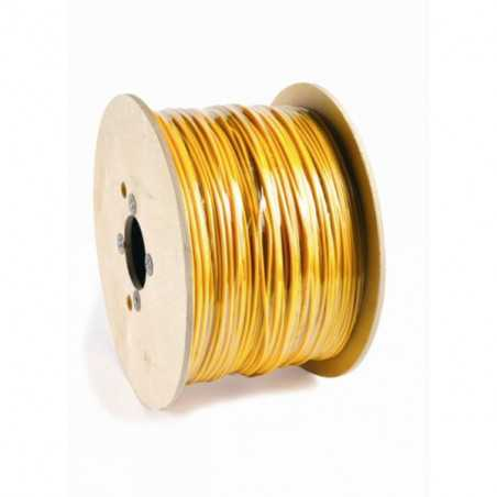 Spool 762 meters of cable 1x1.5 mm2 yellow