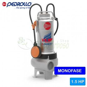 VXm 15/50-MF - electric Pump for sewage water VORTEX single phase