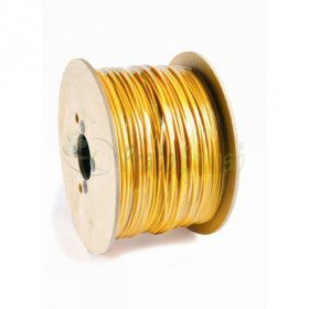 Spool 762 meters of cable 1x2.5 mm2 black