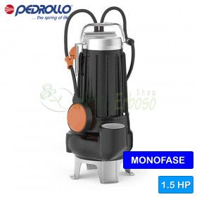 MCm 15/45 - electric Pumps for sewage, non-clog type