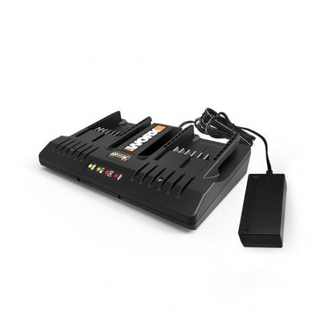 WA3772 - Battery charger 3-5 h 20 V DUAL PORT