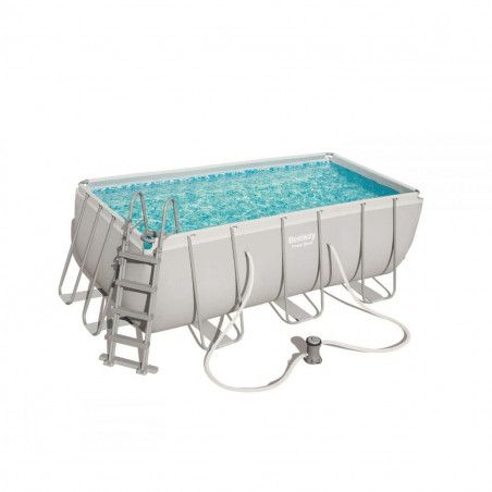 STEEL400 - SPLASH FRAME pool 4 x 2.11 xh 0.81 m