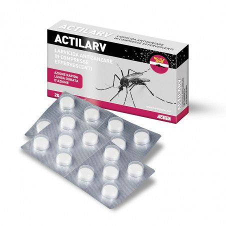 ACTILARV - 20 effervescent tablets insecticide and larvicidal